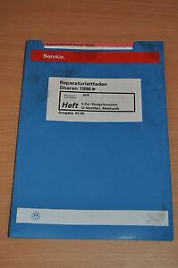 Sachbücher Vw Sharan 1996 4zyl Einspritzmotor Mechanik Werkstatthandbuch Reparaturleitfaden Wir Nehmen Kunden Als Unsere GöTter Auto & Verkehr