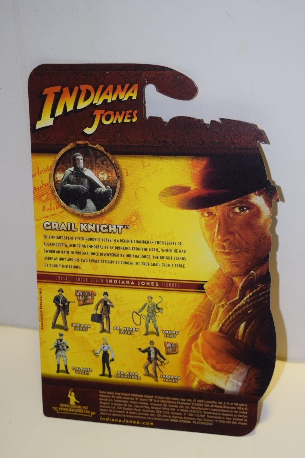 Grail  Knight - Indiana Jones -2008 prossootype proof autod for 3 3 4  cifras  vendite online