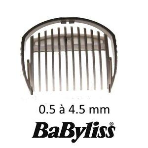 BABYLISS Guide de coupe 0,5-4,5mm tondeuse E709E E712PE E769E E709PE E712PME