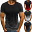 Men-039-s-Slim-Fit-O-Neck-Short-Sleeve-Muscle-Tee-T-shirt-Casual-Tops-Summer-Blouse thumbnail 2