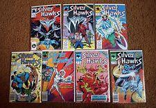 Silverhawks Comic Book Lot: Complete Run 1 2 3 4 5 6 7 Star Comics