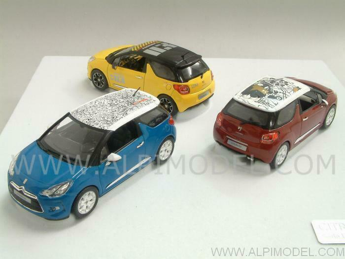 Citroen DS3 2010 Set 3 Coches Gfft Box 1 43 NOREV 155285