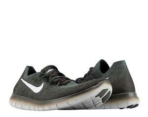 Image is loading Nike-Free-RN-Flyknit-2017-Vintage-Green-Platinum-
