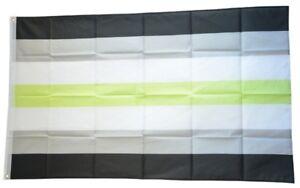 Drapeau agender genderless Drapeau BDSM Hissflagge 90x150cm