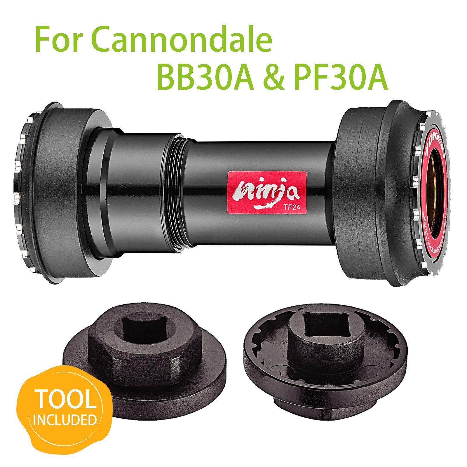 TOKEN ThreadPremere adatta movimento centrale, BB30A & PF30A a Shiuomoo 24mm, in ceramica