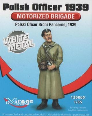 POLISH MOTORISED BRIGADE OFFICER 1939 #135005 1/35 MIRAGE LIMITED EDITION