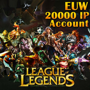 League-of-Legends-LoL-EUW-Smurf-Account-20000-IP-Unranked-Level-30-PC-Europe