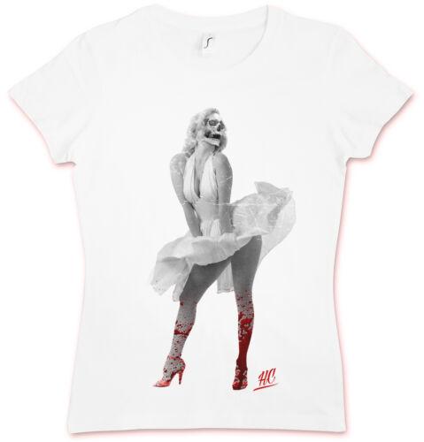 SKULL MARILYN HC HATE COUTURE GIRLIE SHIRT Monroe Rockabella Tattoo Manson Goth