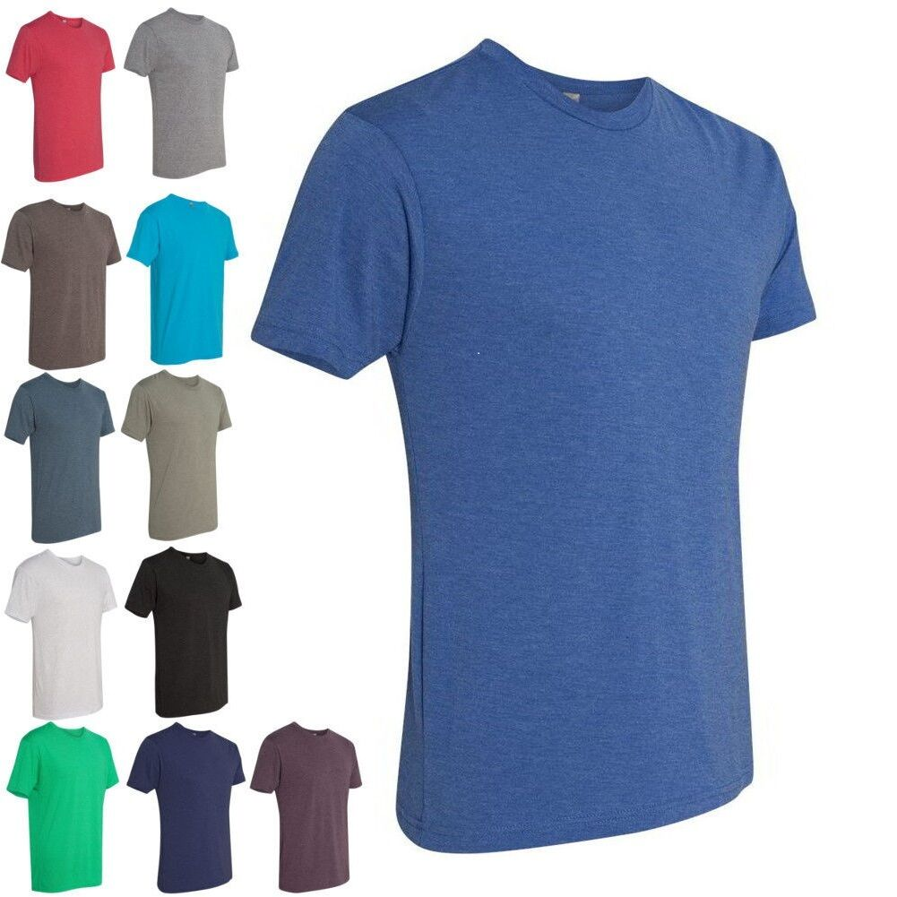 Next Level Premium Tri Blend Crew Neck T Shirt Athletic Fit Tee Shirt 6010