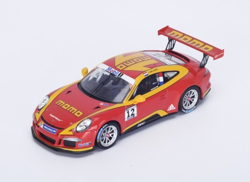 Porsche 991 GT3 Cup 'Momo' Van Lagen  Supercup  2015 (Spark 1 43   SI003)