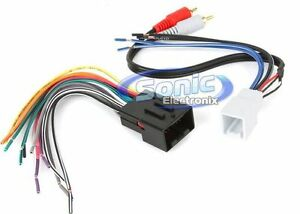 2007 ford mustang stereo wiring diagram new! metra 70-5519 car stereo wiring harness for select ...