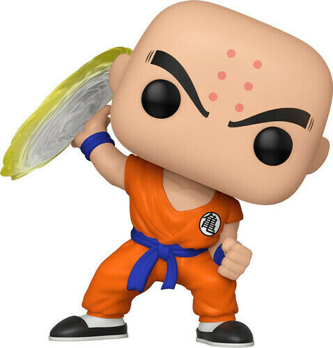 Vinyl Figure #706 Dragonball Z-KRILLIN avec Destructo disque FUNKO POP