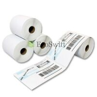 4 Rolls 250 4 X 6 Zebra 2844 Eltron Direct Thermal Printer 1000 Labels 4x6 on sale
