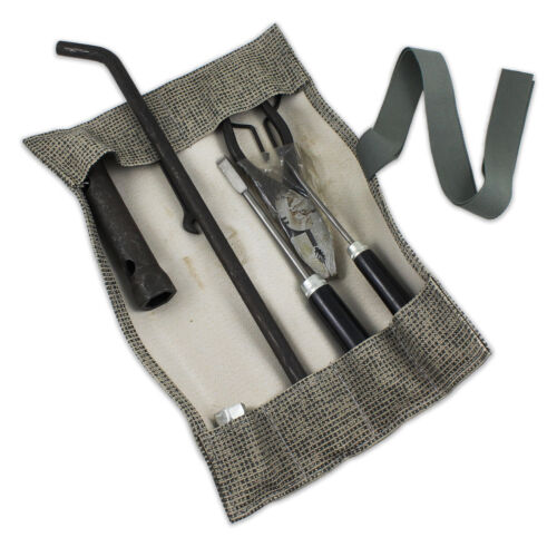 New Vintage Volkswagen Reproduction Mesh Grey Tool Kit Roll