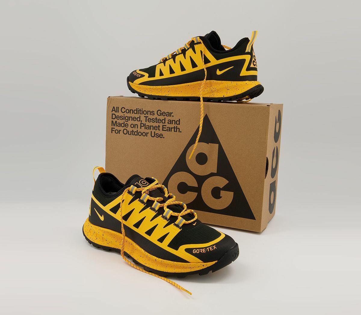 Nike ACG Air Nasu Gore-Tex Black Men's Hiking Trail Trainers Shoes UK 6_6.5_7