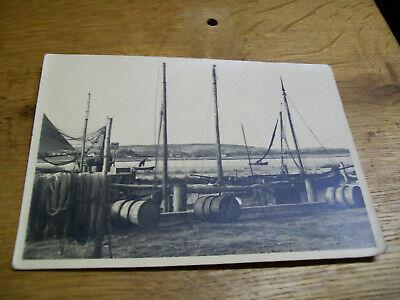 Alte Ak Hafen Zu Vitte - Hiddensee Fischerboote Ostsee Postkarte #33 Eine GroßE Auswahl An Waren