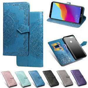 Embossed-Card-S-lot-Holder-Wallet-PU-Leather-Soft-TPU-Flip-Case-Cover-For-Phone