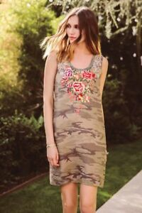 Johnny-Was-Adeline-Side-Button-Camuflage-Tunic-Dress-New-Boho-Chic-J22718