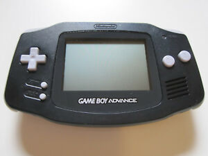 Nintendo-GameBoy-Advance-Konsole-Handheld-Schwarz-17