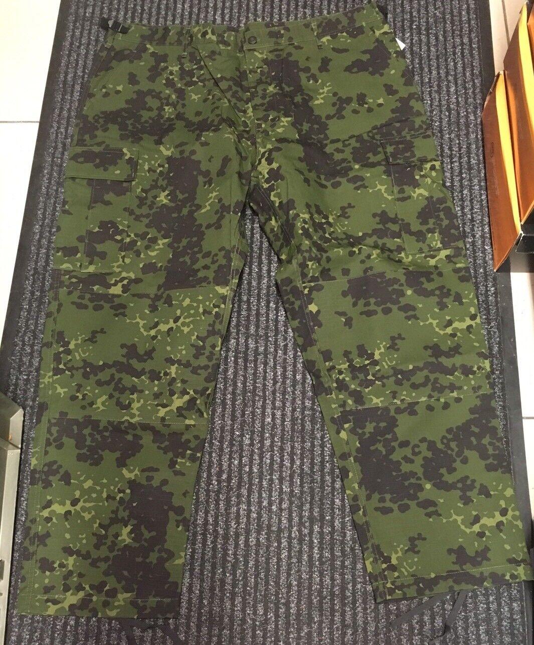 4e1868d717 New Men's M-84 Danish Camo M-65 Style BDU Ripstop Combat Work Trousers