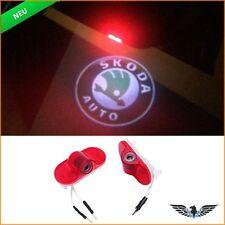 LED Tür Beleuchtung Skoda Octavia 2004-2008 Warnleuchte + Logo Projektor