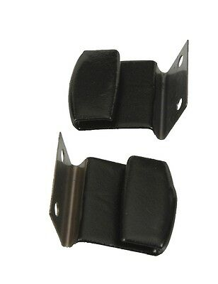 Door Glass BLOW OUT CLIP at Roof Rail WINDOW GUIDE Weatherstrip Retainer Pair