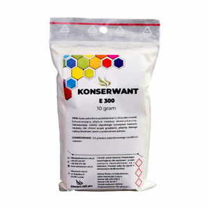 Preservative E 300 Ascorbic acid Vit C Aquarium Fertiliser Anti Bacterial 10g