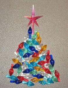 RED Star 50 Med//Large Ceramic Christmas Tree Twist Flame Light Bulbs