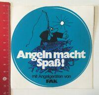 Aufkleber/Sticker: Angeln Macht Spaß Mit Angelgeräten Von FAK (2804161)