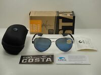 Costa Del Mar South Point Sunglasses So21 Obmp Palladium Frame/blue 580p Lens