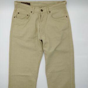 Marlboro-Classics-Pasadena-301-W32-L34-beige-Herren-Jeans-Hose-Denim-Designer