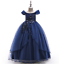 Kids-Flower-Girl-Princess-Dress-for-Girls-Party-Wedding-Bridesmaid-Gown-ZG8 thumbnail 9