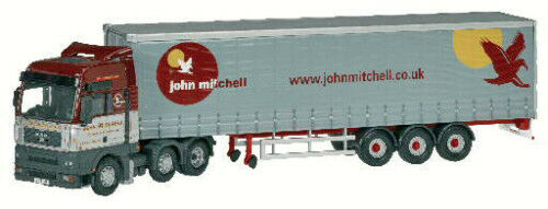 CORGI MAN TGA XXL CURTAINSIDE JOHN MITCHELL CC13409