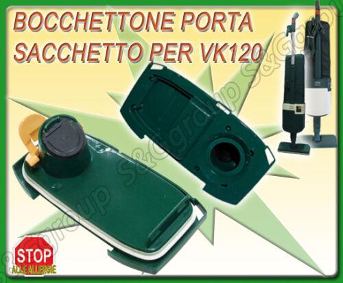 BOCCHETTONE CON VITONE IN PLASTICA SACCHI SACCHETTO FOLLETTO VORWERK VK 120