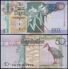 Seychelles 50 Rupees, 2011, P-42, UNC