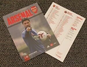 Arsenal-v-Sheffield-United-PREMIER-LEAGUE-Programme-3-10-20-READY-TO-DISPATCH