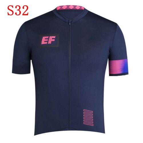 2020 Men/'s Cycling Jersey Short Sleeve Quick Dry Full Zipper Riding Bike Shirts