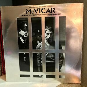 "McVICAR Movie Soundtrack (The Who / Daltrey) - 12"" Vinyl Record LP - EX"