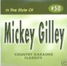MICKEY GILLEY  Karaoke CDG YOU DONT KNOW ME Lonely Nights CITY LIGHTS Talk To Me