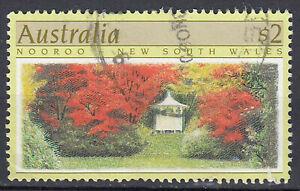 Australia francobollo timbrato 2 dollari nooroo New South Wales/106