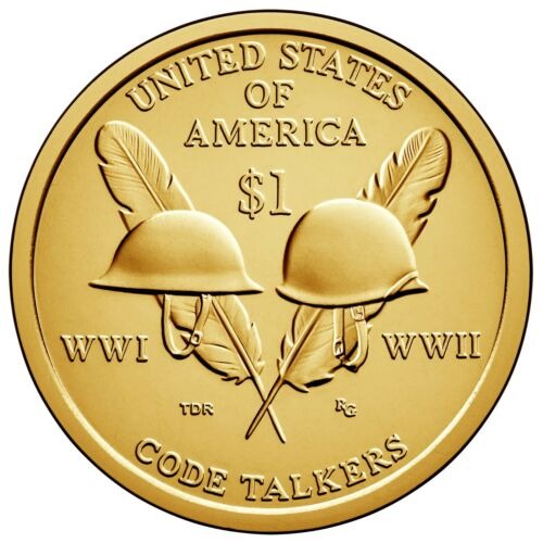 """2016 SACAGAWEA DOLLAR /""""P/"""" AND /""""D/"""" FROM US MINT ROLLS"""