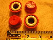 """Radio Flyer Wagon Parts Axle Caps for 0.50"""" axle.   New Red Caps Package of 4"""