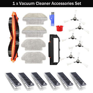 Vacuum Brush Filter Mop for Viomi V2Pro V-RVCLM21B Mijia STYJ02YM Sweeping Robot
