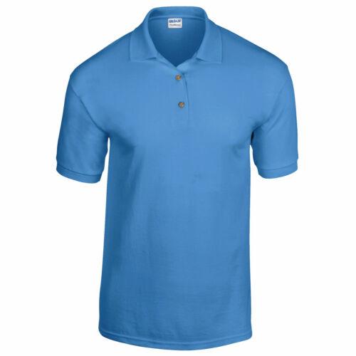 Gildan Hommes Dryblend Jersey Polo Shirt GD40
