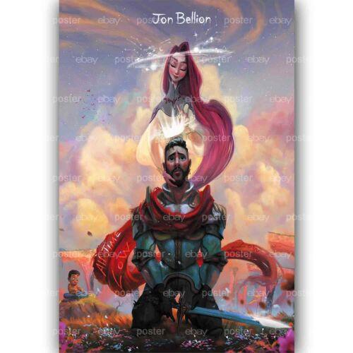Custom Jon Bellion All Time Low Silk Poster New Wall Decor