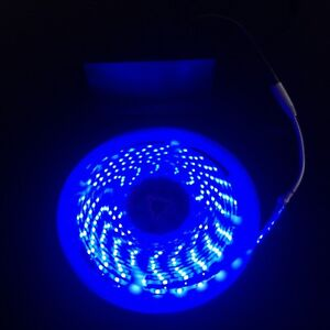 Parasol light led strip tape light blue battery powered 5m garden la imagen se est cargando sombrilla luz led tira cinta luz azul alimentado aloadofball Image collections