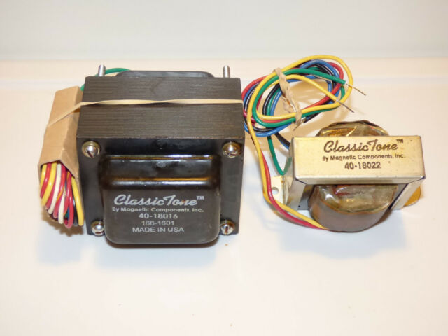 ClassicTone Tweed Deluxe 120V Transformer Set, Power and Output set USA made