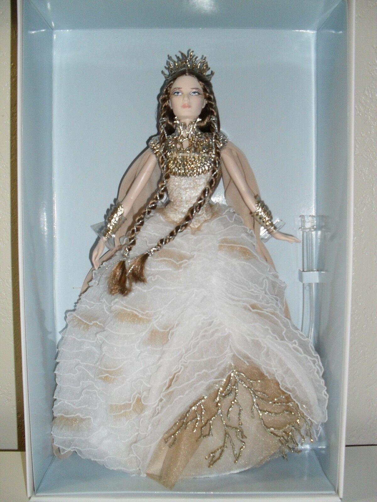 Bosque lejano Dama de las maderas blancoo Muñeca Barbie Con Cargador