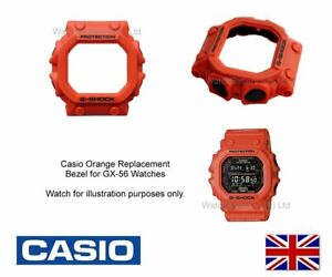 Casio-GX-56-Bezel-GX-56-amp-GXW-56-Orange-watch-case-cover-Shell-for-GX-56-4