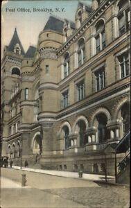 Brooklyn-NY-Post-Office-c1910-Postcard
